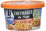 Petit Navire Les Tartinâtes de Thon Carottes/Cumin 125 g