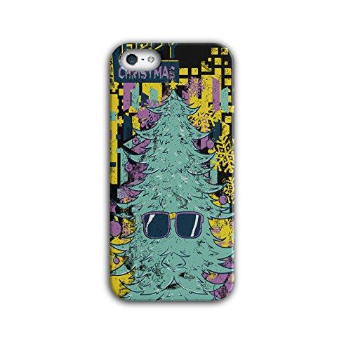 Fröhlich Hipster Weihnachten Weihnachten Baum iPhone 5 / 5S Hülle | (Halloween Kostüme Ideen Hipster)