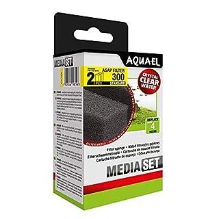 Aquael - Pack of 2 ASAP 300 standard foam filters for aquariums.