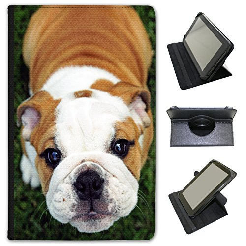 cute-innocent-puppy-bulldog-universal-faux-leather-case-cover-folio-for-the-samsung-galaxy-tab-a-101