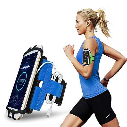 CoverKingz - Brazalete Deportivo Universal para Smartphones de 4 a 7,0 Pulgadas, con Compartimento para Llaves, Funda para teléfono móvil