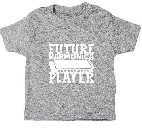 Hippowarehouse Future Harmonica Player Baby Unisex t-Shirt Short Sleeve