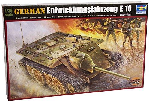Trumpeter 00385 Modellbausatz German E-10 Tank