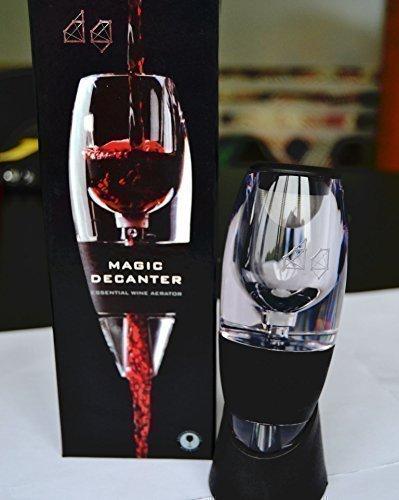 DecentGadget Red/White Wine Aerator Magic Decanter//DecentGadget Red / aireador de vino blanco Jarra mágica