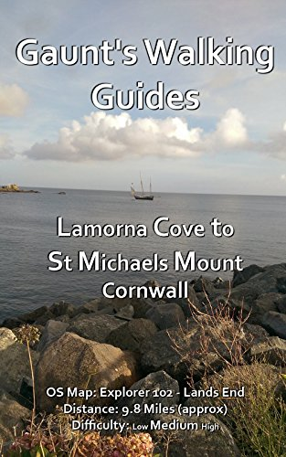 gaunts-walking-guides-lamorna-cove-to-st-michaels-mount-gaunts-walking-guides-book-5-english-edition