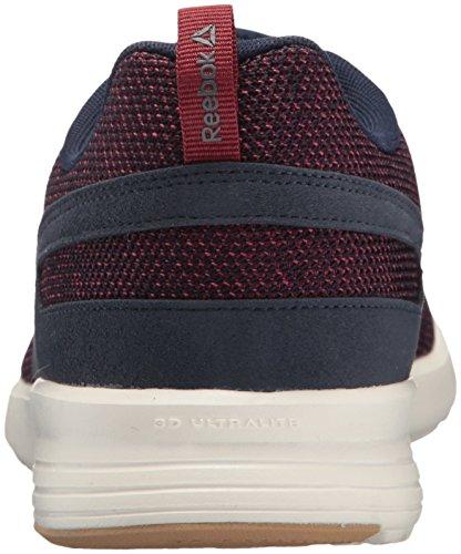 Reebok-Mens-Foster-Flyer-Sneaker-Coll-NavyUrban-MaroonAsh-GreyChalkField-Tan-65-DM-US