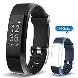 Muzili Fitness Armband YG3 Plus Fitness Tracker Sport Uhr Aktivitätstracker Schrittzähler mit Herzfrequenz Monitor