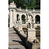 """Alu-Dibond-Bild 80 x 120 cm: """"Märchenbrunnen im Friedrichshain"""", Bild auf Alu-Dibond"""