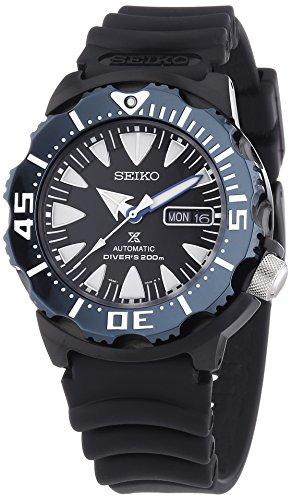 Seiko Reloj Analógico Automático para Hombre con Correa de Plástico - SRP581K1_Nero