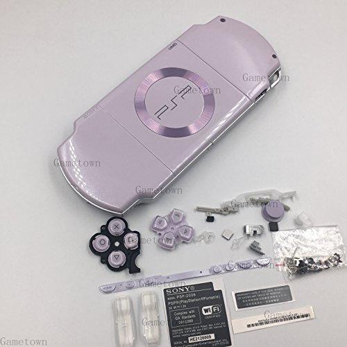 New Ersatz Sony PSP 2000Konsole Full Gehäuse Shell Cover mit Button Set-Licht Violett. (Psp)