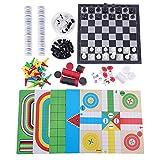 Trendyest Creative 12en 1Jeu de puzzle enfants d'échecs Jouets éducatifs Outil de l'apprentissage
