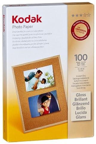 Kodak Photo Papier (180g) 10 x 15 cm 100 Blatt