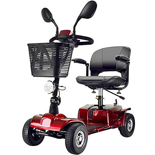 BMDHA Elektro Scooter Faltbarer Tragbarer Mobilitäts-Roller Für Die Älteren,20AH Lithiumbatterie Ausdauer 30 Km