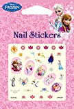Disney Nail Art stickers Decoration Cartoon Nail Decals Assorted 4 sheets (Frozen) by Disney