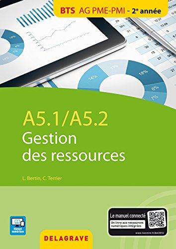 A5.1 / A5.2 gestion des ressources : BTS AG PME-PMI élève