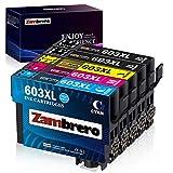 Über Zambrero Zambrero ist spezialisiert auf kompatible und wiederaufbereitete Tintenpatronen. Jede Tintenpatrone wird in unserer hochmodernen Einrichtung methodisch getestet, um die volle Funktionalität Ihres Druckers sicherzustellen. Mit Zambrero-T...