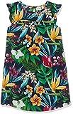 NAME IT Mädchen NKFVINAYA CAPSL DRESS H Kleid, Mehrfarbig (Dark Sapphire), (Herstellergröße: 164)