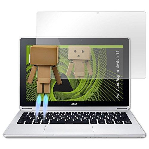 atFolix Bildschirmfolie kompatibel mit Acer Aspire Switch 11 Spiegelfolie, Spiegeleffekt FX Schutzfolie