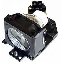 Alda PQ Original, Lámpara de proyector para HITACHI CP-RS55 Proyectores, lámpara de marca con PRO-G6s viviendas