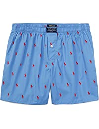 Polo Ralph Lauren Mens Classic All Over pony Cotton Trunk Boxer Short Authentic