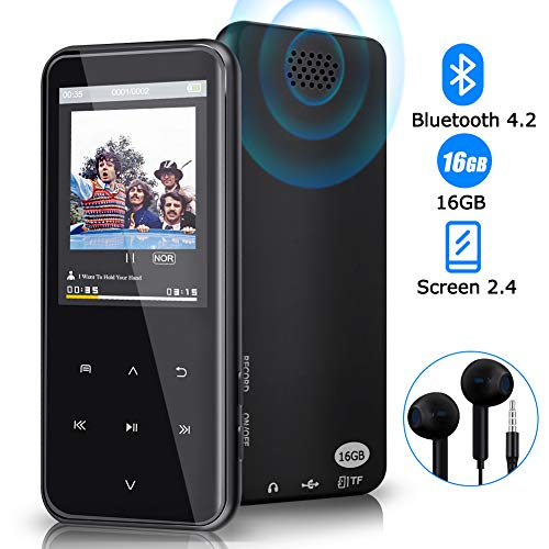 Reproductor MP3, Reproductor MP3 Bluetooth 16 GB 55