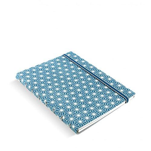 Filofax 115039 Notizblöcke A5 Impressions, blau/weiß