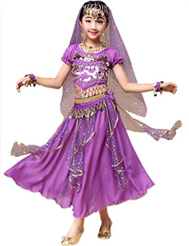 4a5d2182808de Astage Déguisement Indien Bollywood Oriental Costume Carnaval Halloween  Violettlarge