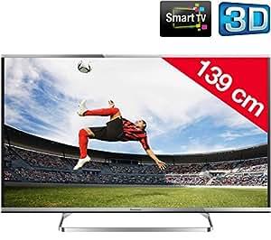PANASONIC VIERA TX-55AS650E - Téléviseur LED 3D Smart TV + Kit n°4 - Support mural fixe + câble HDMI
