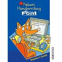 Nelson Handwriting Font CD-ROM and Teacher's Guide