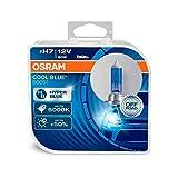 Osram 62210CBB-HCB Cool Blue BoostLeuchtmittel, H7,Offroad, + 50% Helligkeit, Halogen-Scheinwerfer, Duobox 80W