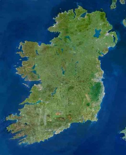 Planet Observer Ireland from Space, Poster