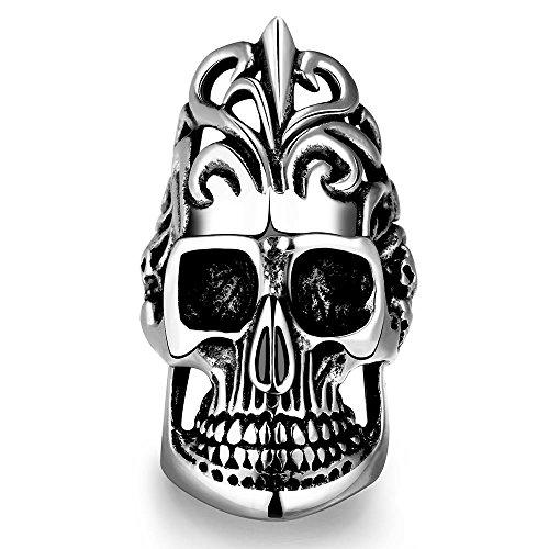 XIXI Unica Star Celebrity Uomini Stili Skull Ring - Stars Il Partito Collare