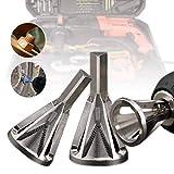 Weinhsl 1 Stück Entgraten Externe Fase Werkzeug Edelstahl Silber Entfernen Bohrer Bohrer - 1 Stück