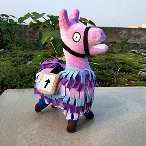 dreamsLE_Toys Plush doll, popular Fortnite Loot Llama plush toy doll soft stuffed animal toy (20cm)