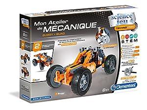 Clementoni-52244-atelier de mecánico-Buggy & Quad-jeu científico