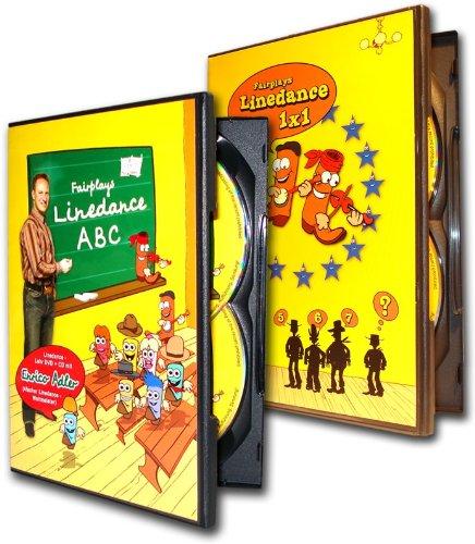 Fairplays Linedance Lehr DVD Sparpaket (2 DVDs & 2 CDs) -