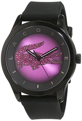 Lacoste orologio da polso da donna al quarzo in silicone 2000918