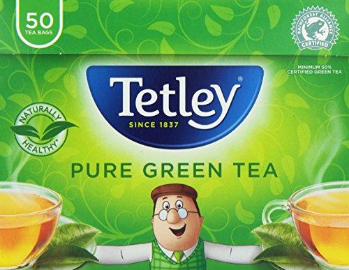 Tetley Pure Green Tea (50 Teabags)
