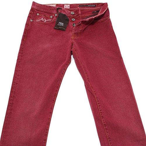 9515 jeans PT05 uomo pantalone pant men bordeaux [30/46]