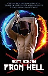 Butt Ninjas from Hell by Eden Winters (2014-04-14)