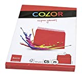 "Elco C5""Cellozip Color"" Envelope - Bright Red (Pack of 25)"