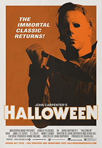 MBPOSTERS Halloween 1978 Vintage Retro Movie Plakat, Poster Print in Sizes