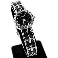 10fw862d PNP glänzend Silber Watchcase Wasser widerstehen Damen Alexis Keramik Armbanduhr Uhr