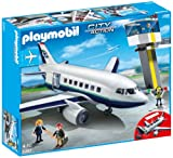 Playmobil 5261 City Action Airport Cargo And Passenger Jet