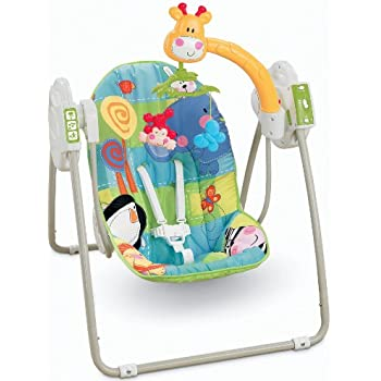 Fisher Price Discover And Grow Take Along Swing Amazon Co