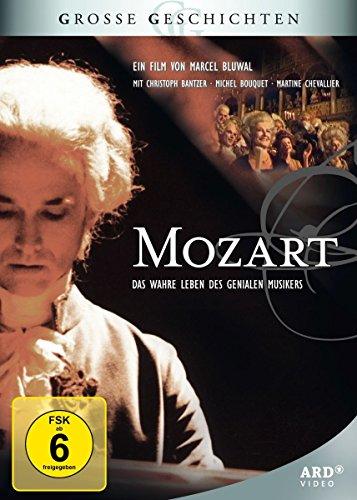Bild von Grosse Geschichten: Mozart - Das wahre Leben des genialen Musikers [3 DVDs]