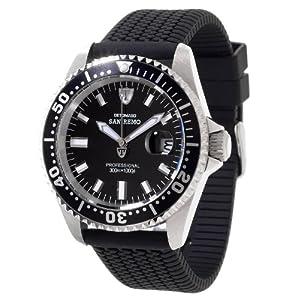 Detomaso DT1025-I – Reloj para Hombres, Correa de Silicona Color