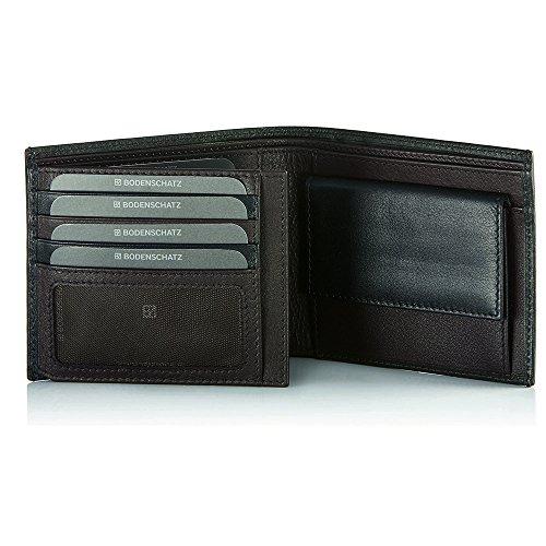 Bodenschatz Catania 8-284 CA 05 Herren Geldbörsen 13x10x3 cm (B x H x T) Braun (Espresso)