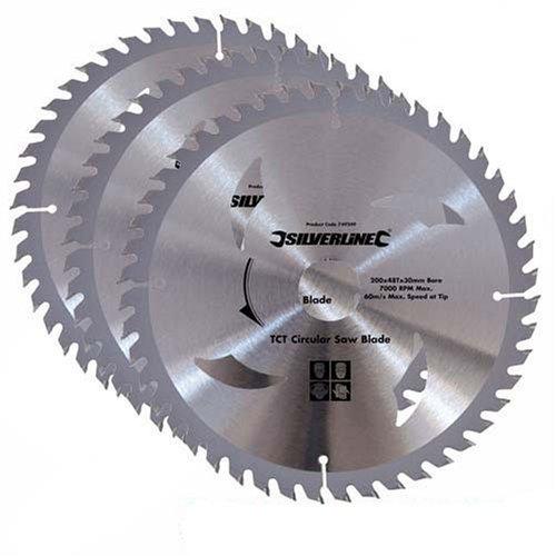 silverline-set-di-lame-per-sega-circolare-3-pz-973912