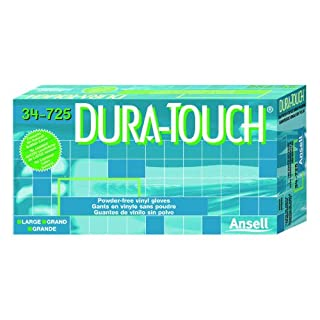 Dura-Touch Medium Gloves in Clear